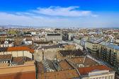 будапешт, венгрия. вид на город с обзорной площадки базилики святого стефана — Стоковое фото