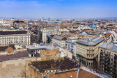 Budapest, Hungary. View of the city from the observation platform of the Basilica of St. Stephen — Stock Photo