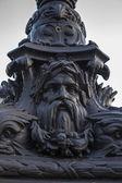 Paris, France. Typical architectural details — Stock Photo