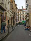 Paris, France, May 4, 2013 . Typical urban view — Stock Photo