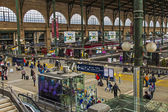 Paris, France, May 5, 2013 . Aprons View North Station (Gare du Nord) — Stock Photo