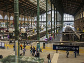 Paris, France, May 5, 2013 . Aprons View North Station (Gare du Nord) — Foto de Stock