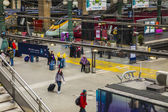 Paris, France, May 5, 2013 . Aprons View North Station (Gare du Nord) — Stock Photo