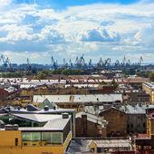 санкт-петербург, россия. взгляды на крышах — Стоковое фото
