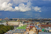 St. Petersburg, Russia. View of the city from the observation platform of St. Isaac's Cathedral — Stock Photo