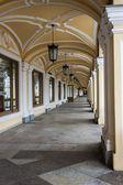 San Pietroburgo, russia. decorazione architettonica di un edificio storico — Foto Stock
