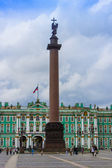 St. Petersburg, Russia. The architectural ensemble of the Palace Square — Stock Photo