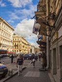 St. Petersburg, Russia . Typical urban view — Stock Photo