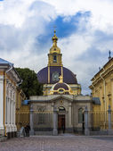 St. Petersburg, Russia , August 27, 2010 . Buildings Architecture and Paul Fortress — Stock Photo