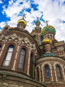 St. Petersburg, Russia 26 August 2010 . Saviour on the Blood Church — Stock Photo