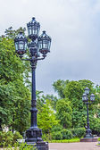St. Petersburg, Russia. Beautiful street lamp — Foto de Stock