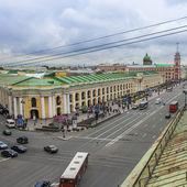 St. petersburg, rusland. nevsky prospect — Stockfoto