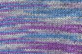 Texture of knitting handmade — Stock Photo