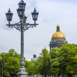 Постер, плакат: St Petersburg Russia May 29 2011 Isaak Cathedral Architecture