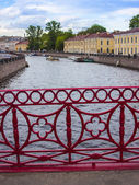 St. Petersburg, Russia, May 29, 2011. View on the Moika — Stock Photo