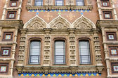 St. Petersburg, Russia. Architectural details of the Savior on Spilled Blood Cathedral — Stock Photo