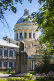 St. Petersburg, Russia Buildings Architecture Alexander Nevsky Lavra — Stock Photo