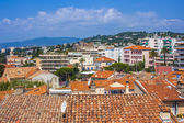Cannes, France, July 1, 2011. Typical urban view from a high point in the summer — Stock Photo