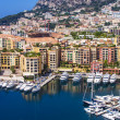 Principality of Monaco, France, July 5, 2011. View Yacht city port — Stock Photo #48480595
