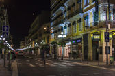 Nice, France, on July 6, 2011. Night townscape — Stock Photo