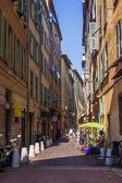 好了,法国在 2011 年 7 月 3 日。在旧城的狭窄街道 — 图库照片