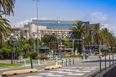 "Nice, France, on July 7, 2011. Airport of Nice of ""Cote d'Azure"" — Stock Photo"