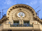 Nice, France, on July 7, 2011. Architectural details — Stock Photo