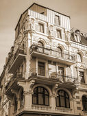 Dusseldorf, Germany, on July 5, 2014. Typical architectural details — Stock Photo