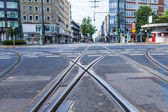 Dusseldorf, Germany, on July 6, 2014. Typical urban view — Stock Photo