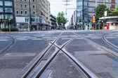 Dusseldorf, alemanha, em 6 de julho de 2014. vista urbana típica — Foto Stock
