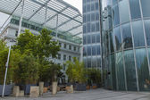 Dusseldorf, Germany, on July 5, 2014. Typical type of city architecture — Stock Photo