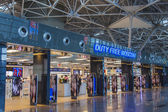 Moscow, Russia, on July 5, 2014. Hall of departures at the airport Vnukovo — ストック写真
