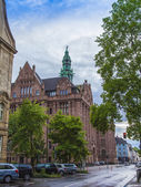 Dusseldorf, Germany, on July 5, 2014. Typical type of city architecture — Stockfoto