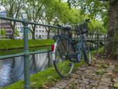 Dusseldorf, Germany, on July 5, 2014. Kyonigsalley - one of the central city streets — Stockfoto