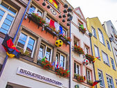 Dusseldorf, Germany, on July 6, 2014. Typical urban view. — Stock Photo