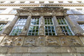 Dusseldorf, Germany, on July 6, 2014. Typical architectural details — Foto Stock