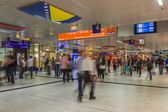 Dusseldorf, Germany, on July 12, 2014. Main city railway station (Dusseldorf Hauptbahnhof) — Foto Stock