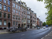 Amsterdam, Netherlands, on July 7, 2014. Typical urban view — Stock Photo