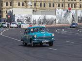 Moscou, Rússia, em 26 de julho de 2014. Este carro na rua da cidade — Fotografia Stock