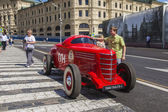 Moscow, Russia, on July 26, 2014. The first Soviet racing car released by GAS plant in 1930 — Stock Photo