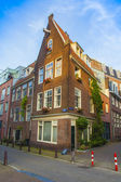 Amsterdam, Netherlands, on July 10, 2014. Typical urban view — Stock Photo