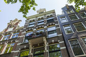 Amsterdam, Netherlands, on July 10, 2014. A typical details of urban architectural — Stock Photo