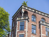 Amsterdam, Netherlands, on July 10, 2014. A typical details of urban architectural — Zdjęcie stockowe