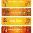 Royalty-Free Stock Vector Image: Autumn Banners