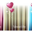 Three Valentine Cards — Image vectorielle
