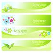 Spring Banners — Stock Vector #14778425