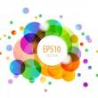 Rainbow Circles — Stock Vector #14833109