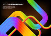 Rainbow Abstract Background — Stock Vector