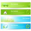Stock Vector: eco banners