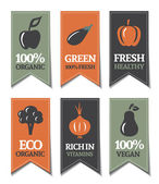 Organic Labels — Vecteur